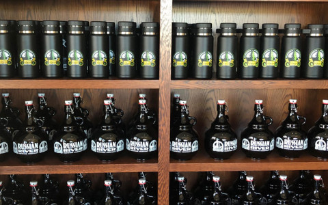 growlers and cannisters russian river brand