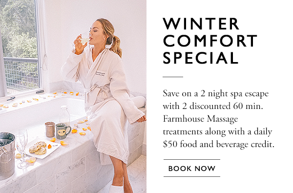 farmhouseinn popup winter comfort special 2