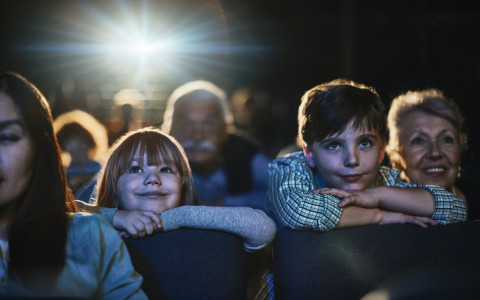 children in theater