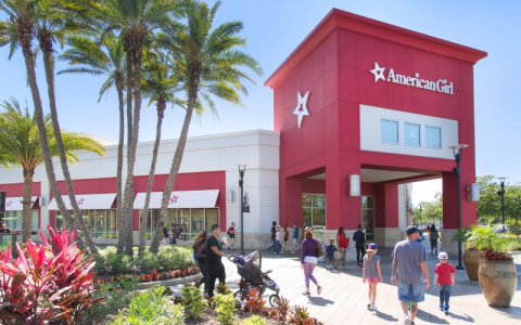 exterior of American Girl store at the Florida Mall