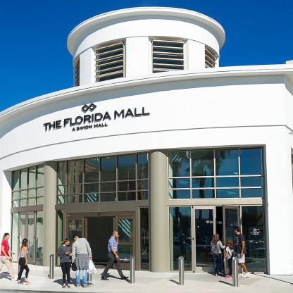Florida Mall exterior entrance