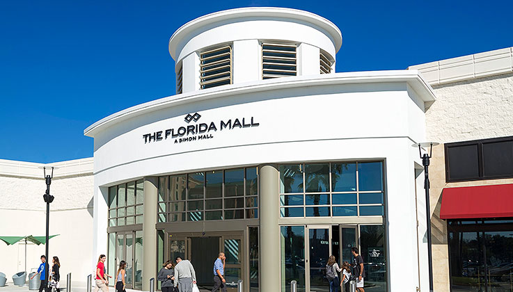 3. We're connected to the Florida Mall