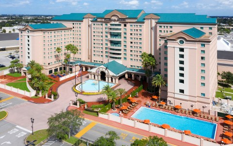 Florida Hotel property view