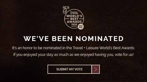 we've been nominated