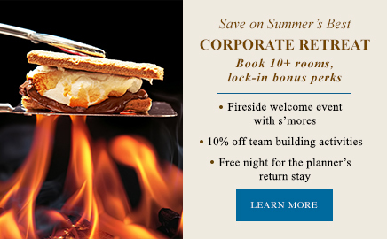 smores - corporate retreat promotion