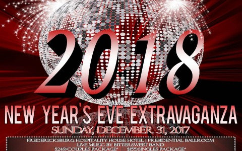 2018 new years eve extravaganza