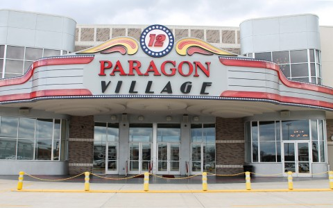 Exterior of Paragon Village building