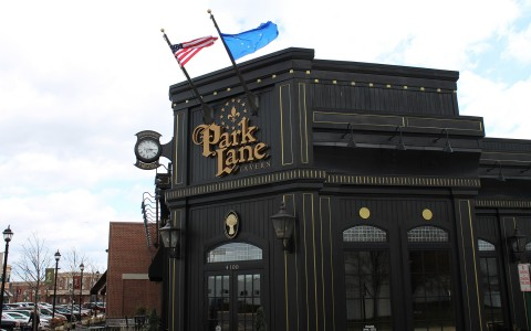 Exterior of Park Lane Tavern