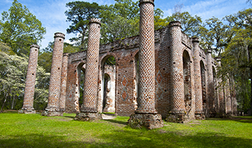 Discover Old Sheldon Church Ruins