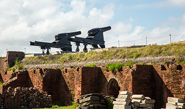 Visit the historic site of Fort Clinch State Park
