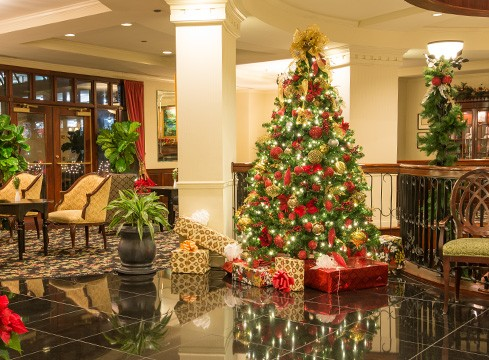 Christmas Tree in the lobby