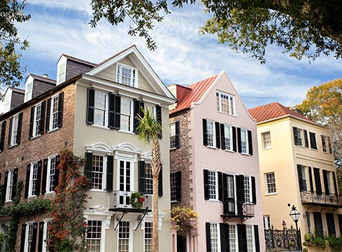 Charleston townhomes