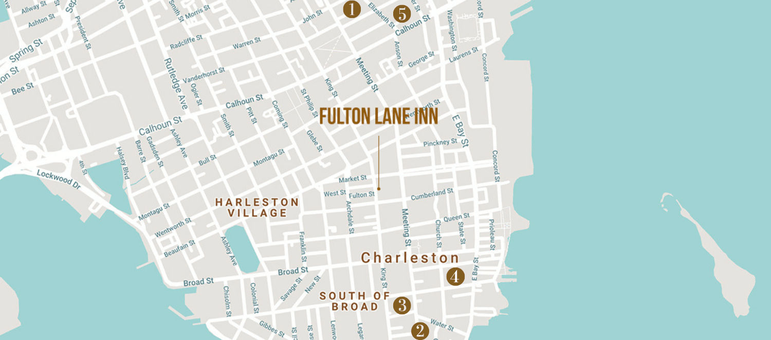 Historic Homes Guide to Charleston