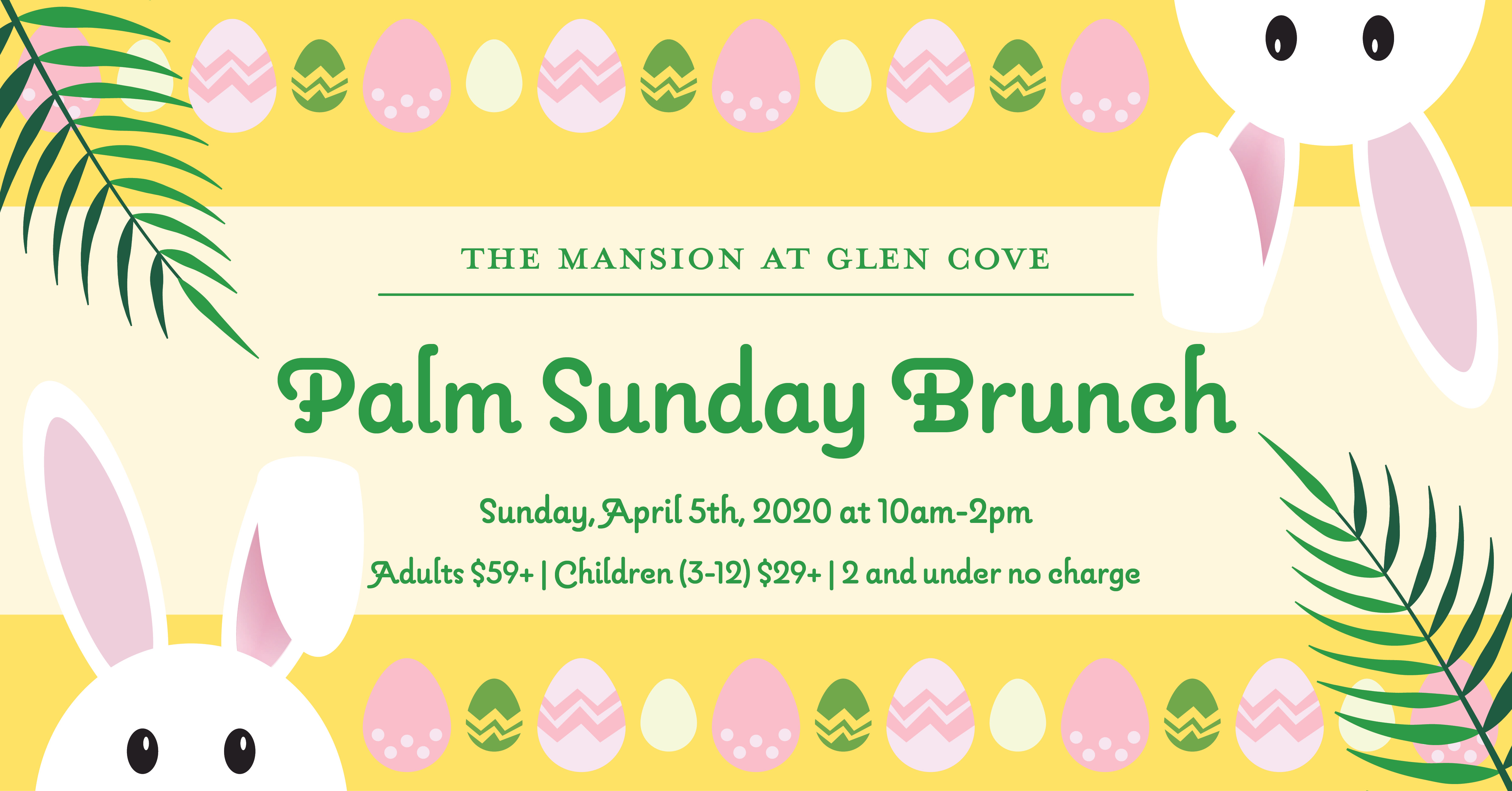 Palm Sunday Brunch Buffet
