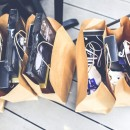 Full shopping bags