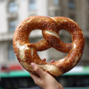 giant soft pretzel