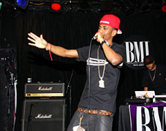 Man performing on stage at the Viper Room