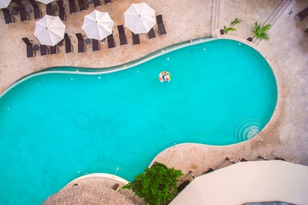 overview of pool
