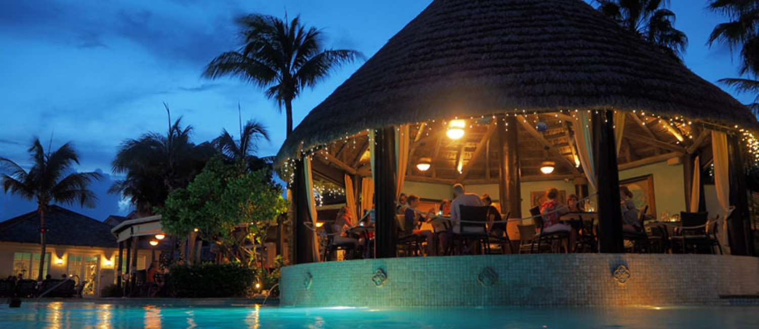 Most romantic restaurants in the bahamas grand isle for Atlantic city romantic restaurants