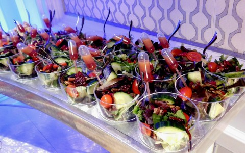 prepped salad cups