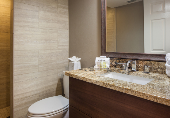 Guest Bathroom for Bay View Suites