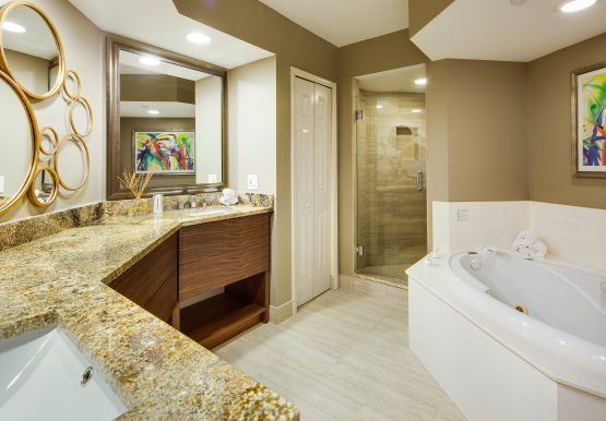 Master Bathroom for Bay View suites