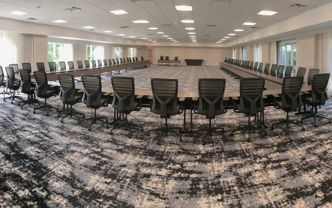 Conference Room at Wyndham Hamilton Park Hotel