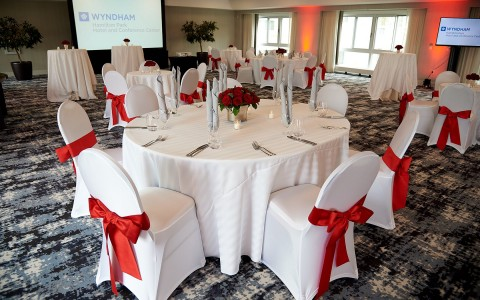 Event Space at Wyndham Hamilton Park Hotel