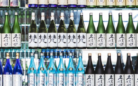 Our beautiful selection of Japanese sake