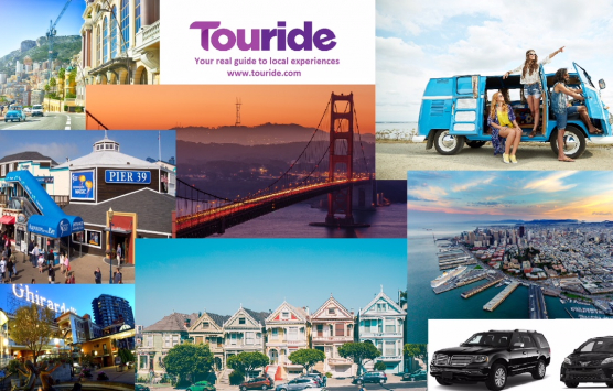 Touride collage of San Francisco destinations