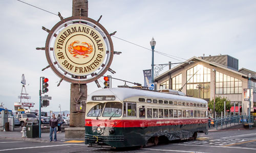 Fisherman's Wharf Outdoor Sign