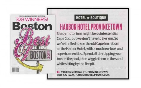 Harbor Hotel - Best of Cape Winner