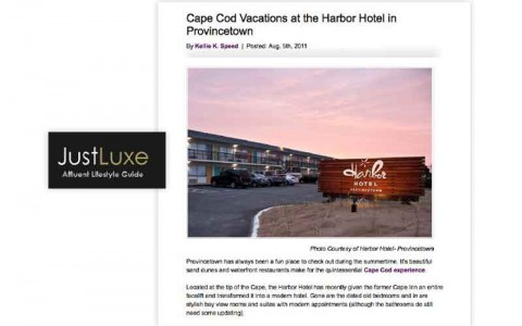 Cape Cod Vacations at the Harbor Hotel Provincetown