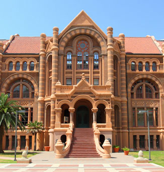 Building at UTMB Galveston