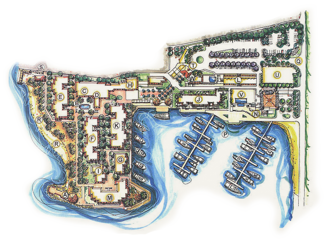 hvb resort map