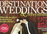 cover of destination wedding magazine