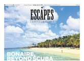 cover of escapes magazine