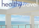cover of healthy travel magazine
