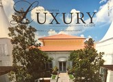 cover of luxury magazine