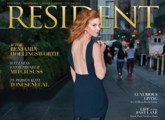 Cover of resident magazine
