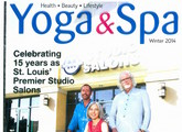 cover of yoga and spa