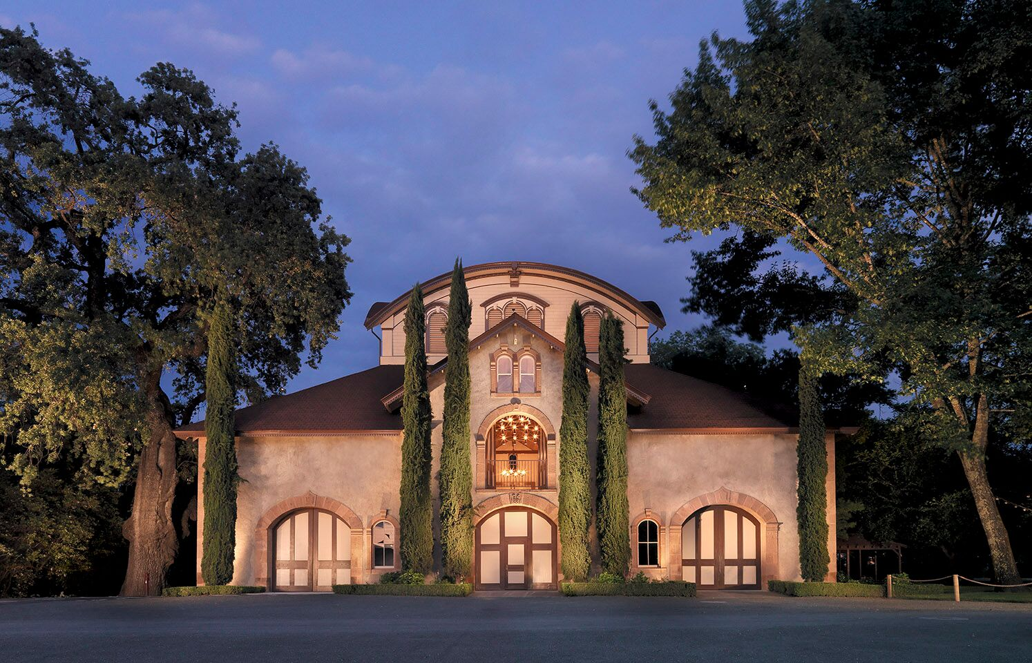 charles krug winery entrance