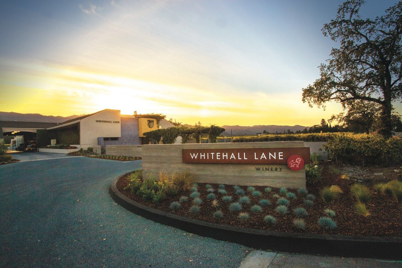 entrance to whitehall lane winery