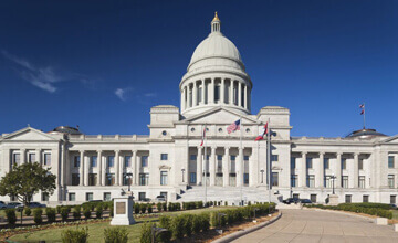 Little rock arkansas capitol building