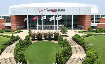 little rock arkansas verizon arena