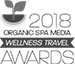 wellness travel award logo