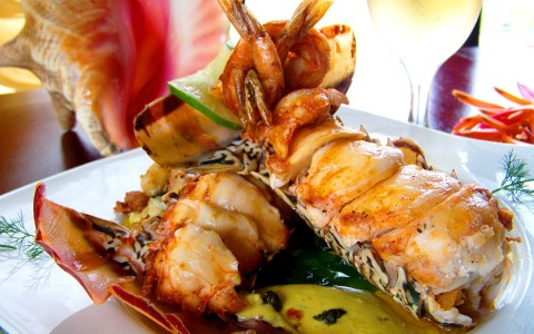 Succulent seafood is a Hidden Valley culinary tradition