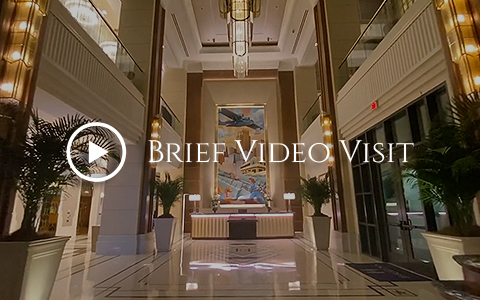 higgins hotel gallery video