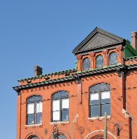 historic brick building