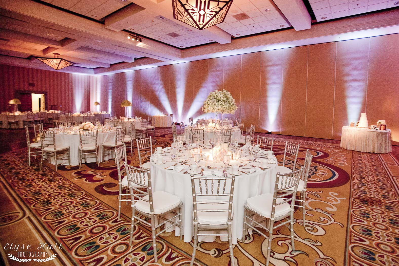 Hilton tucson el conquistador golf tennis resort wedding table settings junglespirit Images